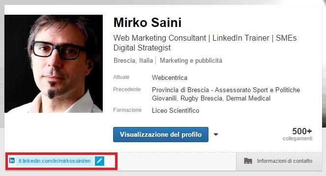 Profilo 04 - Come personalizzare l'URL del tuo profilo OK-min