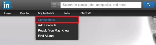 Profilo 05 - Come esportare la lista dei tuoi contatti LinkedIn 01 - Ok-min