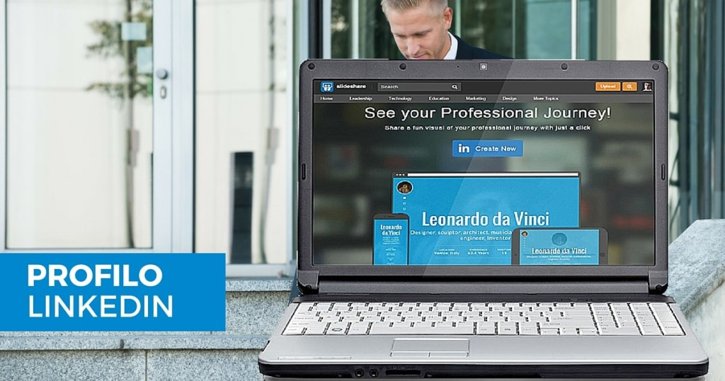 Come trasformare il tuo profilo LinkedIn in infografica o in un sito onepage-min