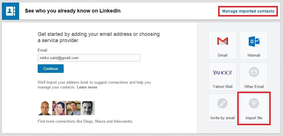 La sezione My Network - un CRM direttamente in LinkedIn_01-min