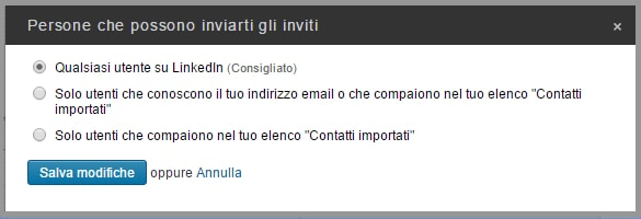 Ricezione Inmail - Come gestire i mittenti