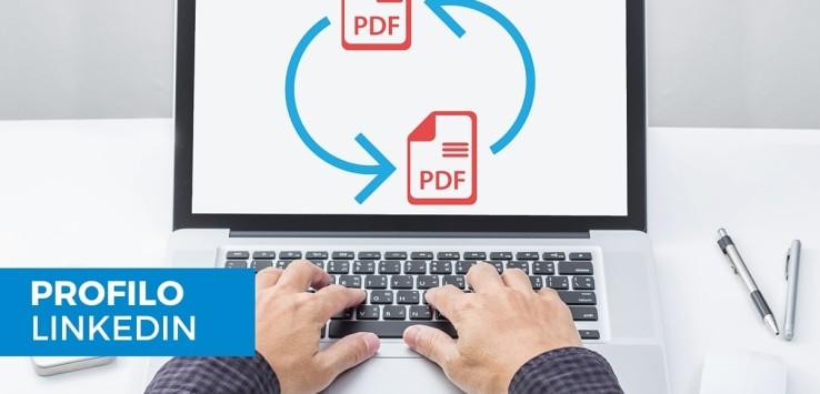 Come aggiungere video, link e PDF al tuo profilo LinkedIn